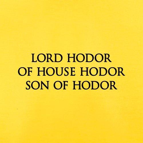 Lord Hodor Of House Hodor Son Of Hodor - Herren T-Shirt - 13 Farben Gelb