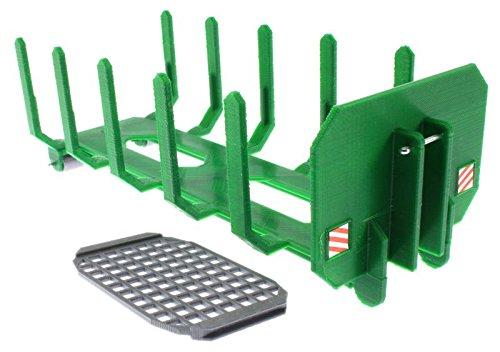 Preisvergleich Produktbild Forst Container mit Rungen für Siku Control 32 Krampe Hakenlift (6786) (Grün)