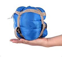 SOLVHK Saco de Dormir Saco de Dormir al Aire Libre Lazy Bag 190 * 75 cm