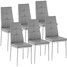 Sedie per soggiorno for Sedie moderne grigie