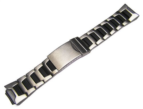 16 mm Timex Metall Armbanduhr Band Armband für Timex 30 Lap Ironman Triathlon T53151, t53952, - Band Watch Timex 16mm
