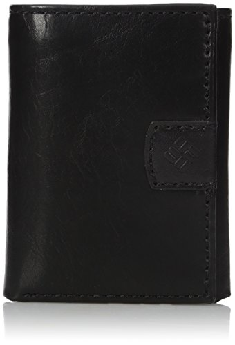 Columbia Men's Rfid Blocking Trifold Wallet With Interior Zipper (Columbia Tri-fold)