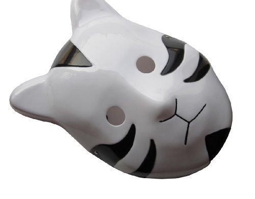 Naruto Shippuuden ANBU Cosplay Mask Itachi Cat Style Black by Renineic