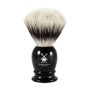 MÜHLE - Rasierpinsel - CLASSIC Serie - Silvertip Fibre® S - Edelharz schwarz