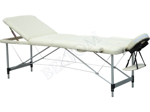Lettino Massaggio Portatile In Alluminio.Lettino Massaggio 3 Zone In Alluminio Nuovo Dimensione Xl 195 X 70