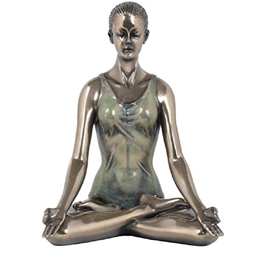 Zen et Ethnique Lotus Yoga - Figura Decorativa