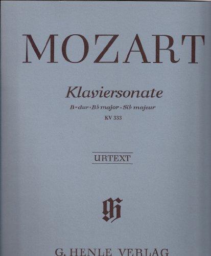 Partition : Klaviersonate B-dur KV 333 (...