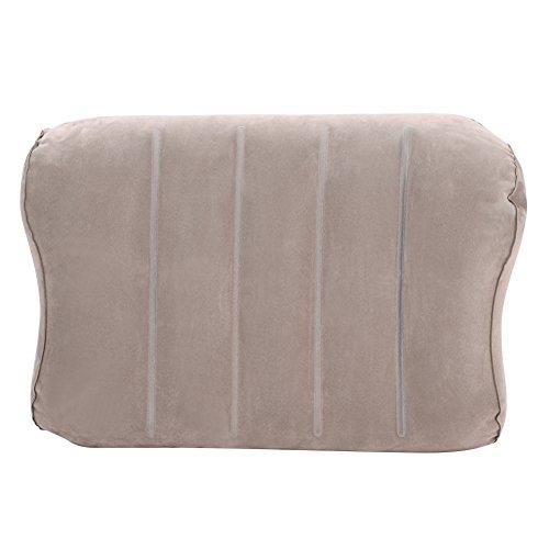 Ibluelover supporto lombare, cuscino gonfiabile da viaggio/campeggio cuscini comprimibile, compatto, gonfiabile, comodo, ergonomico, supporto posteriore per la casa, ufficio, sedie e auto