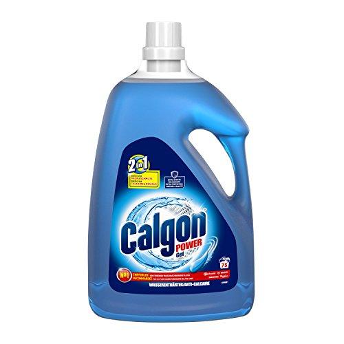 Calgon 2in1 Gel, Wasserenthärter gegen Kalk & Schmutz in der Waschmaschine, 3.75 l