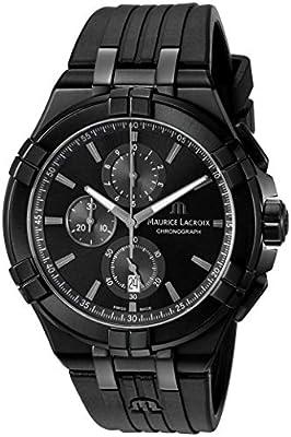 Maurice Lacroix Mens Watch Aikon Quartz Chronograph AI1018-PVB01-333-1