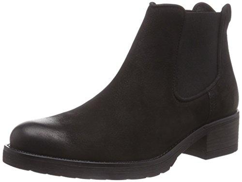 Mentor Mentor Chelsea Boot, Bottes Classiques femme Noir (black Nubuck)