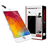 Tronicle iPhone 7+ Weiß Vormontiert Ersatzdisplay Komplettset Montagewerkzeug LCD Ersatz Touchscreen Glas Reparatur