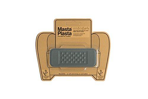 MastaPlasta Selbstklebende Leder-Reparaturflicken, Grau Größe/Design wählbar Erste-Hilfe für Sofas, Autositze, Handtaschen, Jacken etc. - Design-leder-jacke