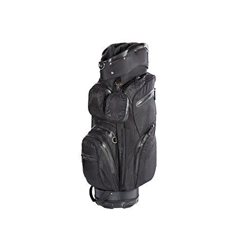 JuCad Golf Bag Aquastop wasserdicht Golfbag Farbe: schwarz