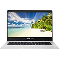 ASUS Chromebook C423NA (Grey) (Intel Celeron N3350, 4 GB RAM, 32 GB eMMC, 14 Inch HD Screen, Chrome OS)
