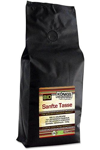 Sanfte Tasse, BIO, gemahlen, mild & säurearm, 500g - Bremer Gewürzhandel