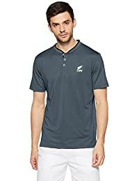 DFY Men's Solid Regular Fit Polo