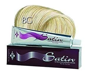 Developlus Satin Color #8G Light Golden Blonde 3oz (2 Pack)