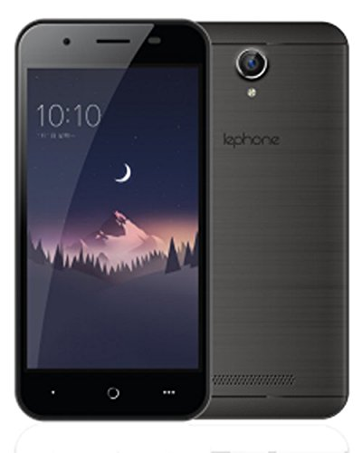 Lephone W12 Dual Sim(4G+4G) VoLTE 2.5D Curved Glass - Black