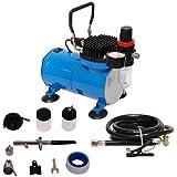 50068 Airbrush Kompressor-Set Ölfrei