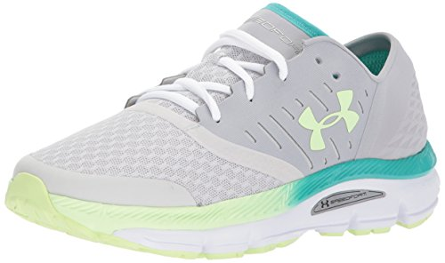 Under Armour Womens Speedform Intake Overcast Gray/Glacier Gray/Lime Fizz