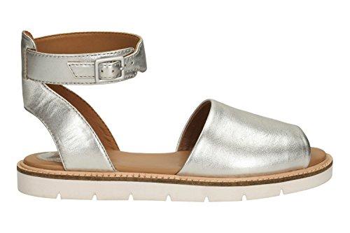 Sandali e infradito per le donne, color Argento , marca CLARKS, modelo Sandali E Infradito Per Le Donne CLARKS LYDIE HALA Argento Bianco (bianco)