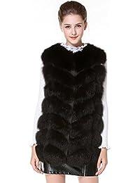 e9532386f4ea32 Suchergebnis auf Amazon.de für: schwarze weste damen - Pelz: Bekleidung