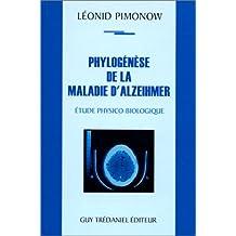 Phylogénèse de la maladie d'Alzeihmer