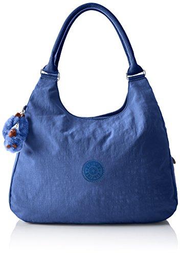 Kipling Bagsational - Borse a tracolla Donna, Blau (Jazzy Blue), 39x34.5x16 cm (B x H T)