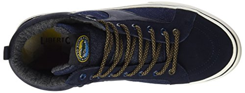 Da Blu Scarpe blu Bassa Ginnastica Lib58cl Liberto Navy Uomo nwEAfTnx