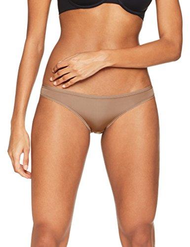 Iris & Lilly - Body Smooth Bikini, Mutande Donna Marrone (Brownie 18-1321tcx)