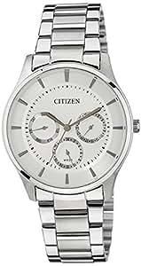 Citizen Analog White Dial Men's Watch - AG8350-54A
