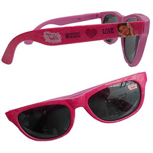 Occhiali da sole violetta disney rosa con filtro uv400