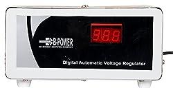 B-POWER RF5H1029 Refrigerator Voltage Stabilizer, White