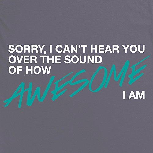 How Awesome I Am T-Shirt, Herren Anthrazit