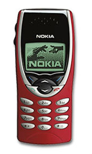 Nokia 8210 Handy red