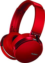 Sony Xb950b1 Extra Bass Wireless Headphones - Red