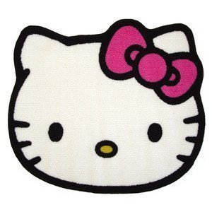 hello-kitty-head-shaped-rug