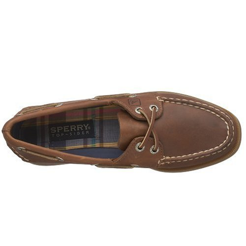 Sperry A/O 2-Eye Leather, Scarpe da Barca Donna Marrone (Braun (Sahara))