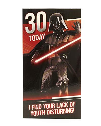 0Star Wars Darth Vader 30. Geburtstag Karte ()