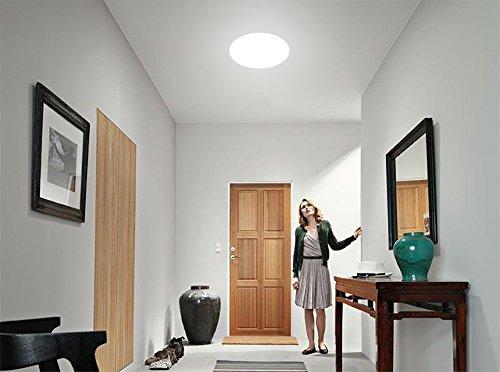Plafoniere Tonde A Led : Öuesen plafoniera led w lampada da soffitto bianco freddo
