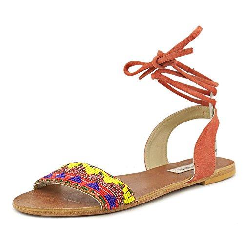 Sandal Multi Steve Flat Shaney Madden Bright qByKptF1w