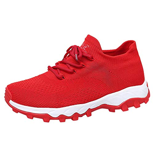 Sunnyadrain Uomo Donna Scarpe da Ginnastica Sportive Running Fitness Sneakers Traspiranti Outdoor Respirabile Mesh Casual Sneakers