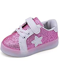 Scarpe Bambino Con Luci Led Scarpe Da Bambino Sportive Scarpe Ginnastica Bambina  Bambino Moda Stella Sneaker 1ed93289e29