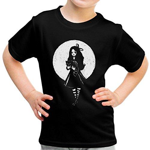 Dark Alice In Wonderland Kid's T-Shirt
