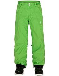 Zimstern niña Snow Pants Delta Twill, color lima, tamaño L