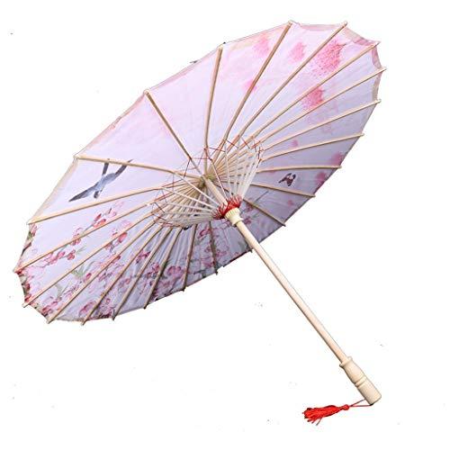 TIANYIP Handgemachte Regenschirme Antike Kostüme Öl Papier Regenschirme Antike Regenschirme Regendicht Klassische Regenschirme - Regendicht Kostüm