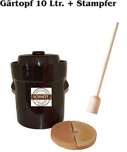 gaertopf 10 liter Gärtopf 10 Liter + Stampfer gratis