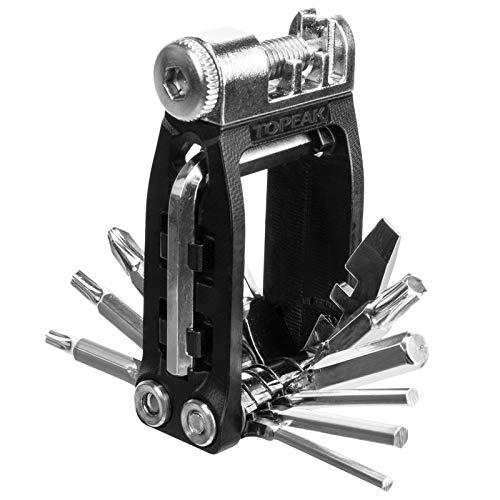 TOPEAK Ninja 16+ Multifunktions Tool 16 Funktionen Werkzeug Kompakt Mini Multitool Werkstatt, TT2577 -