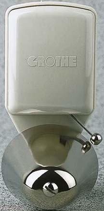 Grothe 24113 Klingel 8-12V 85 dBA Grau, Silber